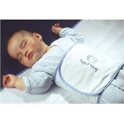 Safe T Sleep Sleepwrap Travel Baby Swaddle and Sleep Positioner for Cribs and...