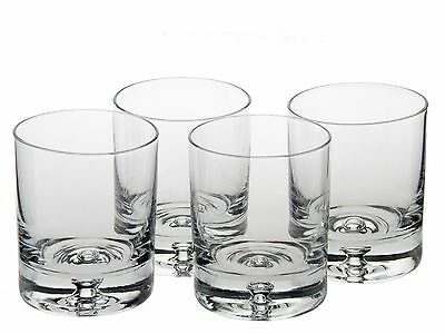 Ravenscroft Crystal Taylor Double Old Fashioned Glass Set of 4