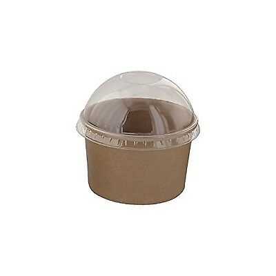 PacknWood Kraft Paper To-Go Bucket Container  6 oz. Capacity Brown  (Case of ...