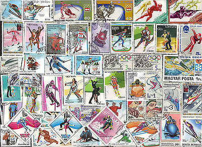 50 All Different WINTER SPORTS