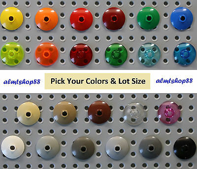 LEGO - 2x2 Dish Inverted Radar - PICK YOUR COLORS - Disc Space Round Lot 4740
