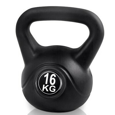 Everfit 16kg Fitness Gym Exercise Weightlifting Weights Kettlebell