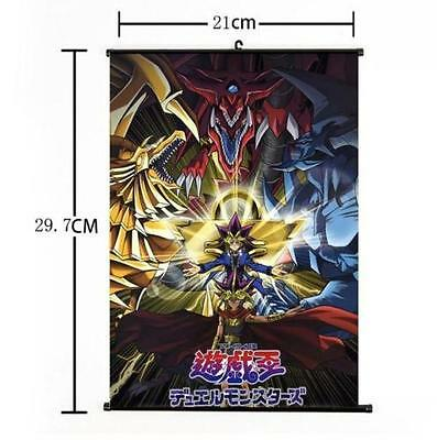 Anime Yu-Gi-Oh Zexal Yuma Tsukumo Duel Monster Home Decor Poster Wall Scroll 003