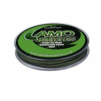 Gardner Camo Plummet 35lb/15.9kg Disruption Green 10m