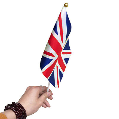 Small Union Jack UK Flag - England British Brazil Rio Olympics Game Supporter