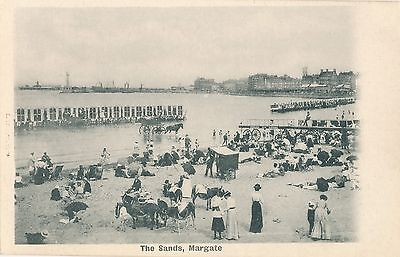 POSTCARD  MARGATE  The  Sands