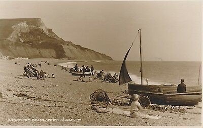 POSTCARD  SEATON  On the Beach