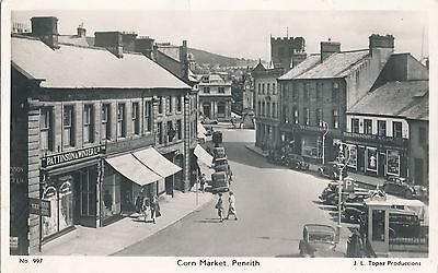 POSTCARD  PENRITH   Corn  Market