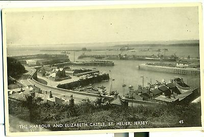POSTCARD JERSEY St Hellier  Harbour