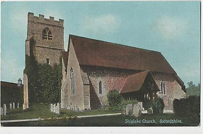 POSTCARD  OXFORDSHIRE  Shiplake Church