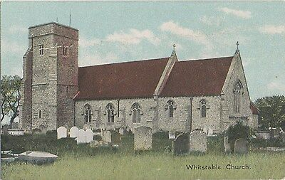 POSTCARD  WHITSTABLE  Church