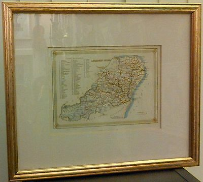 Map - Antique Map Of Aberdeen Shire In 1882