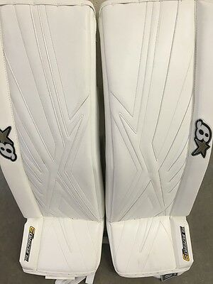 Brian's Sub Zero 3 PRO Custom Made Goalie Leg Pads 34+1 BRAND NEW!!!