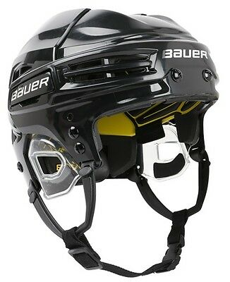 Bauer Re-Akt Hockey Helmet Black SR sizes