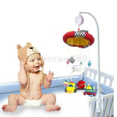 35 Melodies Song Auto Music Box+Baby Crib Mobile Bed Bell Toy Holder Bracket 38""