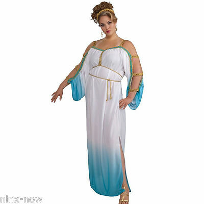 Grecian Gorgeous Goddess Plus Size Womens Costume Fits to size 22