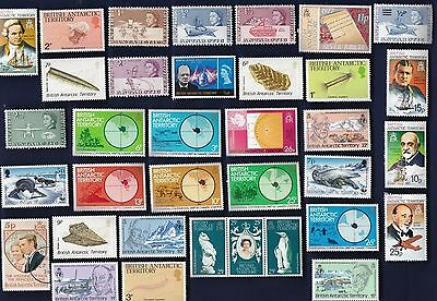 50 All Different BRITISH ANTARCTIC TERRITORY Stamps