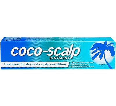 Coco Scalp Ointment - Coconut Oil Treatment - Dry Scaly Scalp Conditions  - 40g