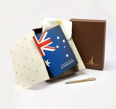 Happy4Earth Proud Passport Case Package ID Card Holder Italy Leather Australia