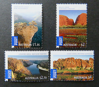 Australian Decimal Stamps:2008 Gorgeous Aust-International Post Series-Set 4 MNH