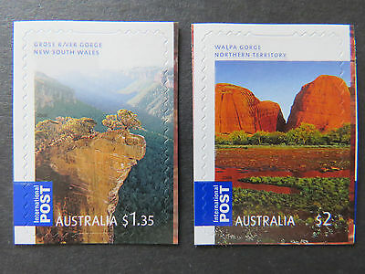Australian Decimal Stamps: 2008 Gorgeous Aust-International Post-Set 2 P&S MNH