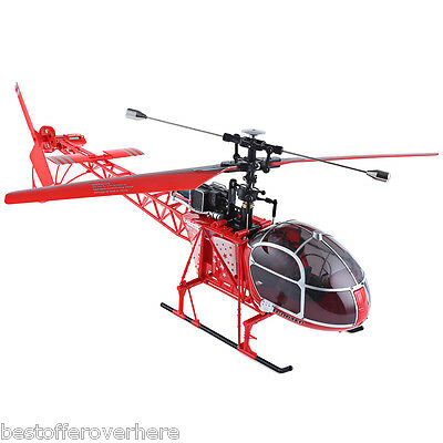 WLtoys V915 Lama 4CH 2.4G 6 Axis Gyro 2 Modes RC Helicopter High Simulation RTF