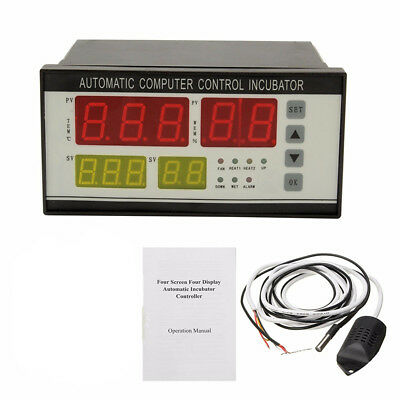 Digital Incubator Controller Temperature Humidity Control Automatic Egg Turning
