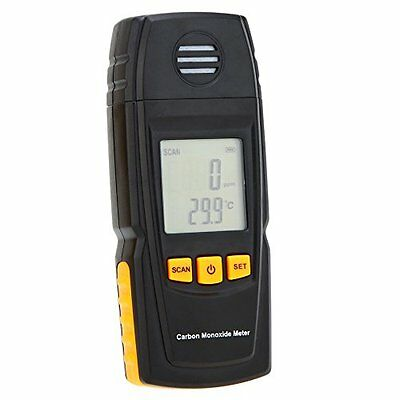 KKmoon Handheld Carbon Monoxide Meter with High Precision CO Gas Tester Monitor