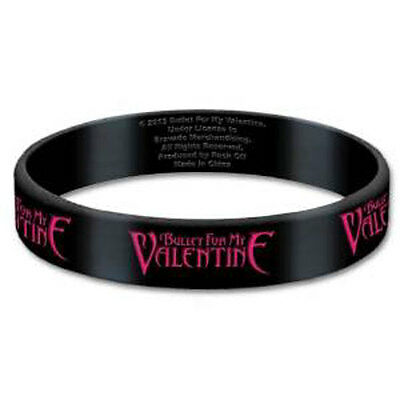 Official Bullet For My Valentine - Logo - Rubber Gummy Wristband