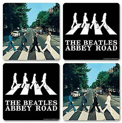The Beatles - Abbey Road - 4 Piece Coaster Set