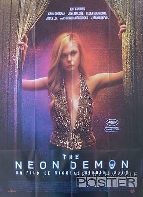 The Neon Demon - Winding Refin / Fanning / Reeves  - Original Large Movie Poster