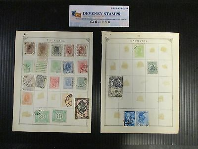 Romania & Russia Stamp Collection