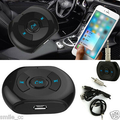 Auto Ricevitore Wireless Bluetooth 3.5mm AUX Audio Stereo Musica