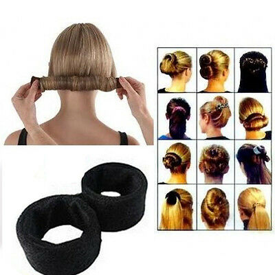 Newly Hair Updo Wrap Fold Snap French STYLE Bun Maker Hair Magic Styling Tool S0