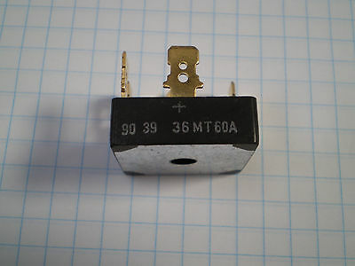 36MT60A THREE PHASE BRIDGE RECTIFIER 35 A 1600 Vrrm