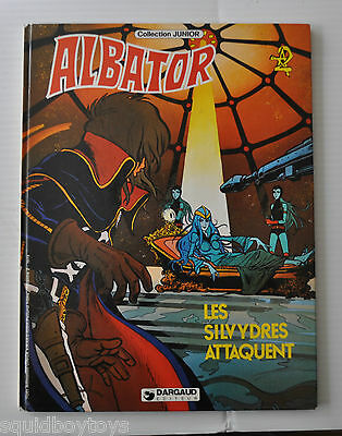 ALBATOR : Les Silvydres Attaquent BD French Comic Book (Captain Harlock) 1981