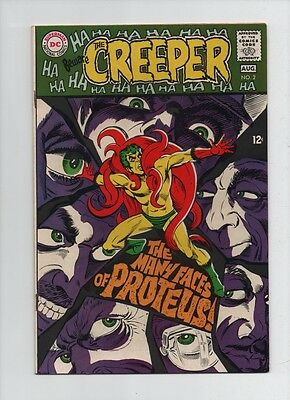 Beware The Creeper #2 - Steve Ditko Proteus - (Grade 7.0) 1968