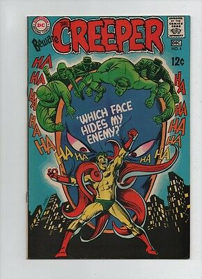 Beware The Creeper #4 - Which Face Hides My Enemy? Ditko Art - (Grade 8.0) 1968