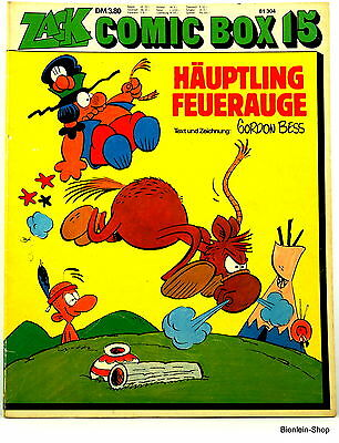Zack Comic Box Band 15 - Häuptling Feuerauge - Koralle 1975
