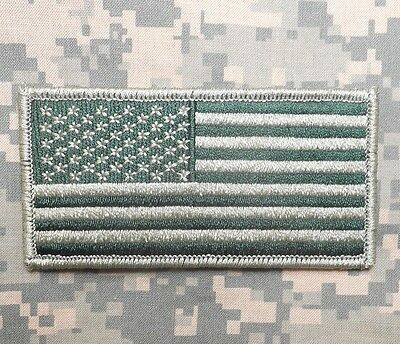db7e5145c4f2 Usa American Flag Tactical Us Army Military Morale Badge Od Green Iron On  Patch