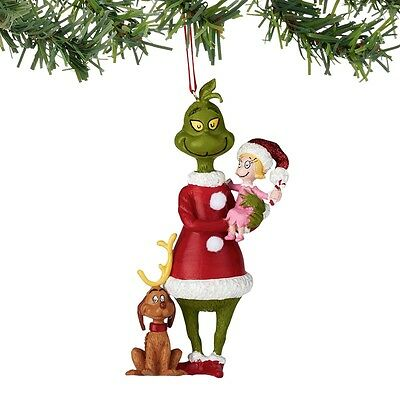 Dept 56 Grinch Stole Christmas Cindy Max Ornament $50=FreeShipUS