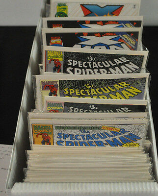 Mostly Marvel And Dc Comic Book Long Box Lot #3! Signed Walking Dead 1 Wwcc!
