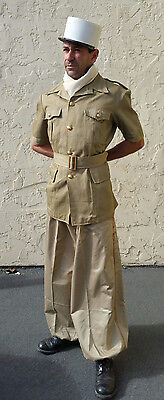 French Foreign Legion Cavalry Sarouel Khaki Trousers CSPL Size 38