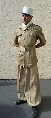 French Foreign Legion Cavalry Sarouel Khaki Trousers CSPL Size 40