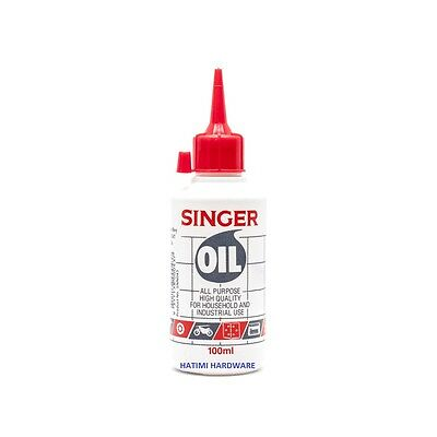Singer Sewing Machine Oil 100ml,Domestic/Industri Lubricant Machine,Hinges,Locks