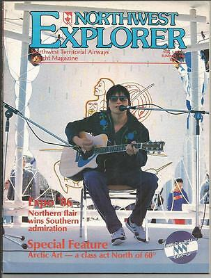 NORTHWEST EXPLORER inflight magazine Northwest Territorial Airways NWT 1986