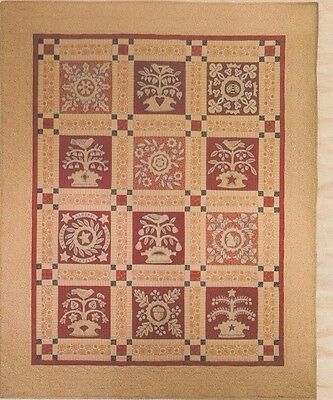 A Bountiful Year - lovely pieced & applique BOM quilt PATTERN - Kathy Schmitz