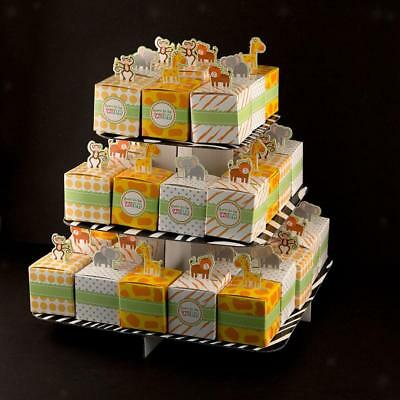 50pcs Animals Candy Boxes Birthday Party Baby Shower Favor Gifts