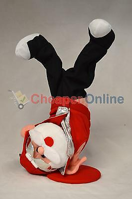 36cm Break Animated Dancing & Singing Santa / Father Christmas Decoration