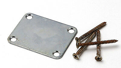 Aged Nickel Neck Joint Plate Screws included for Fender Fits To Strat ®